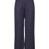 And Less Bolette marineblå bukse, viskose/lin