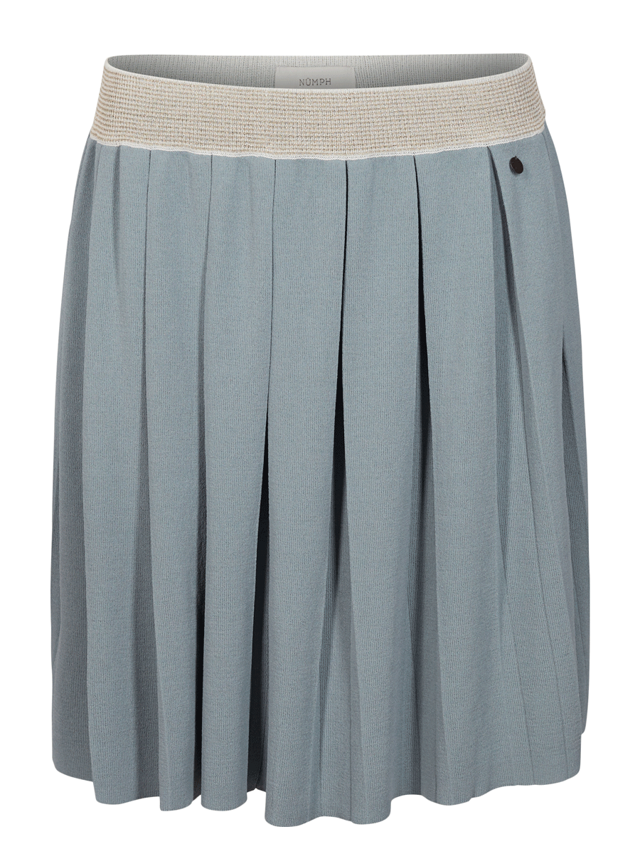 Nümph Breanna knit shirt, lys sjøgrønt