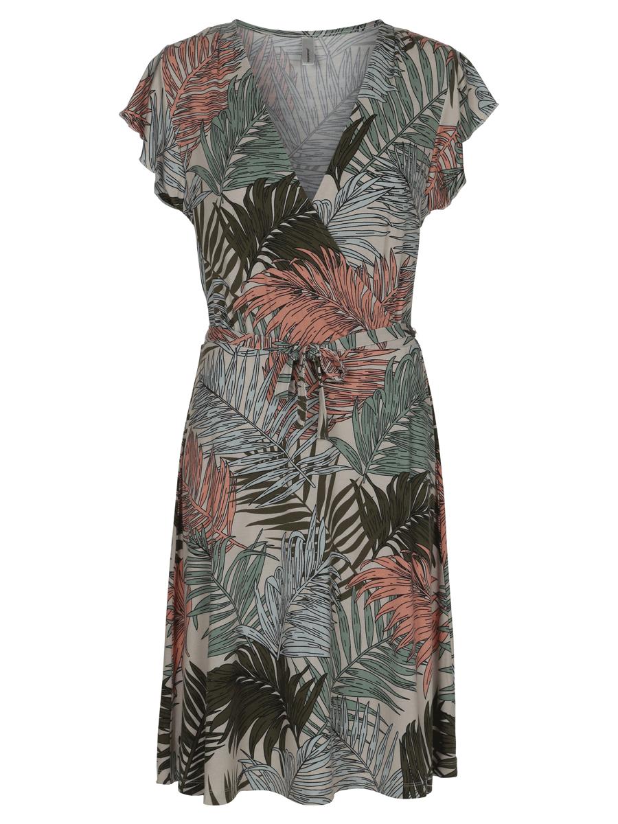 Soyaconcept Sc-Laya3, mønstret kjole