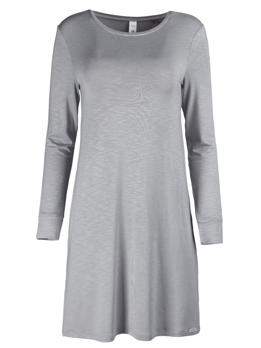 Skiny Sleepshirt Desert Garden, grå nattkjole