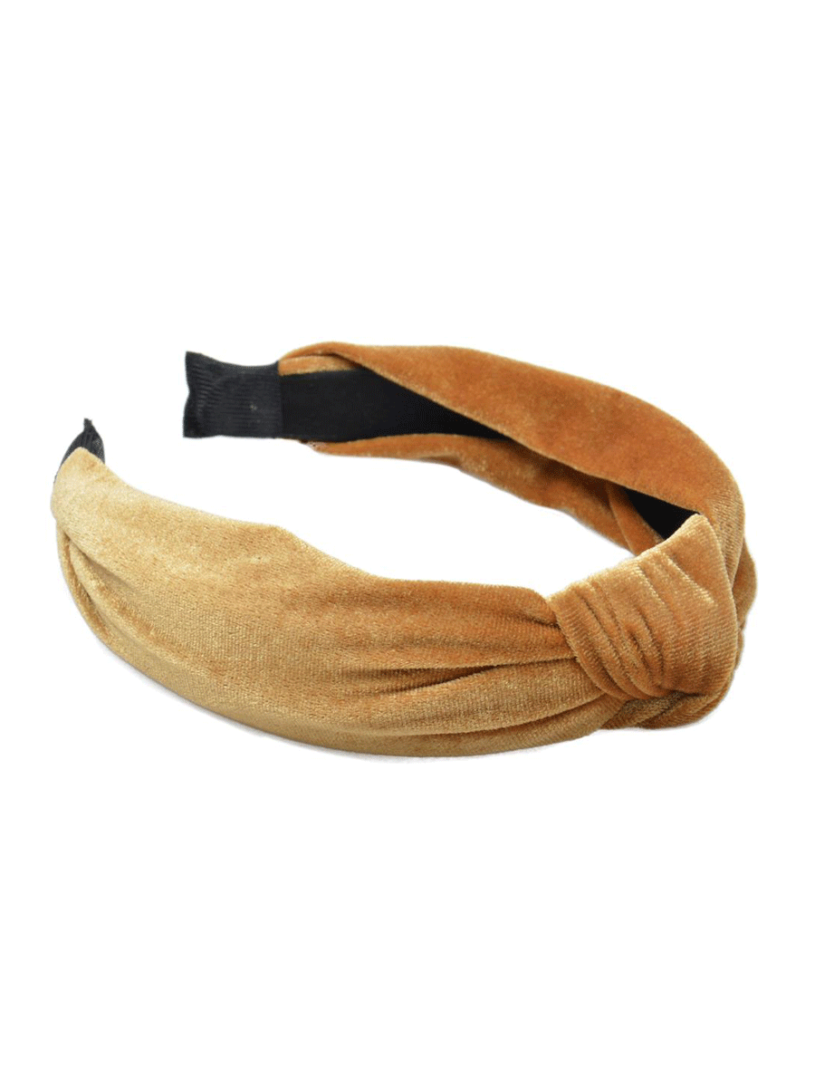 IntexSkandia AS, hårbøyle, glatt velour, gul