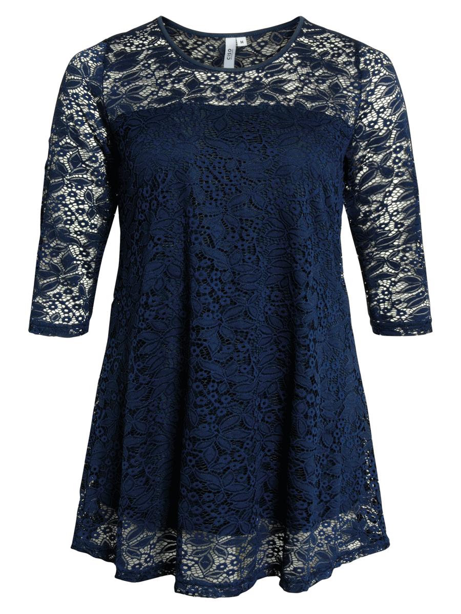 Ciso blonde tunika, marineblå