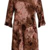 Ciso Jersey Dress, brun kjole