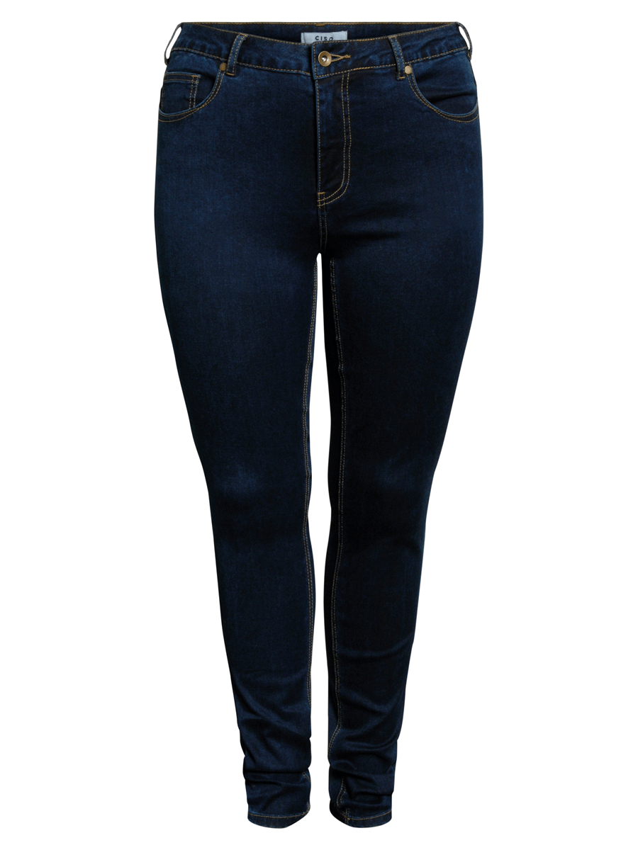 Ciso Stretch pants slim fit, denimblå jeans