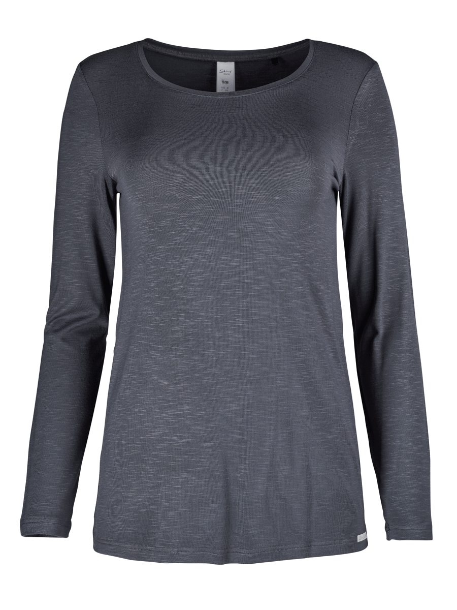Skiny Identity shirt l/s sleeve, mørk grå