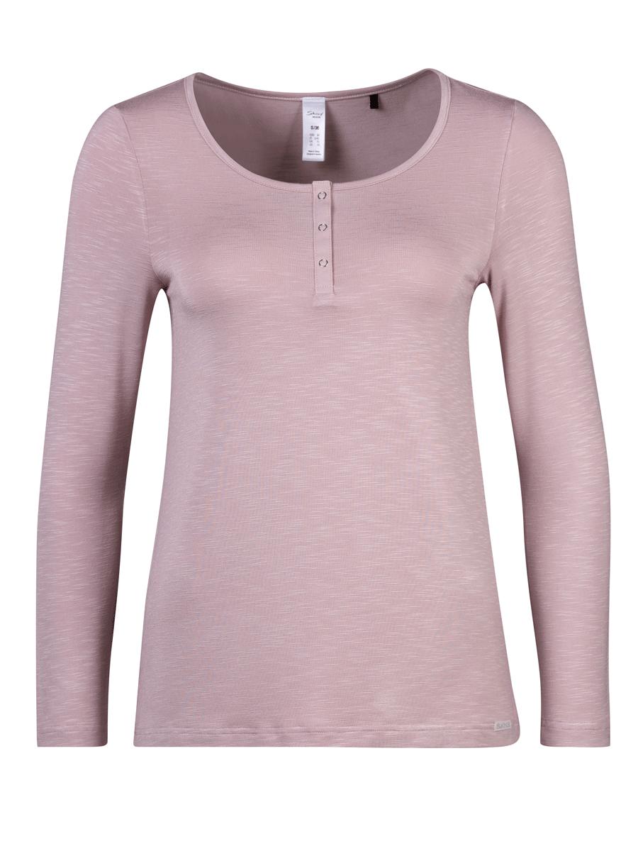 Skiny Sleep mix & match, shirt l/s, dus rosa