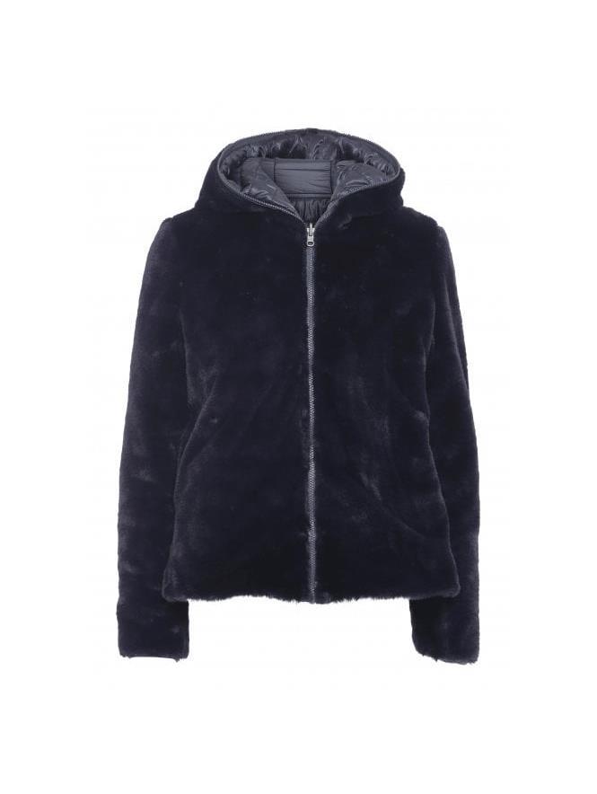 Soyaconcept Sc-Noel 2 boble/fuskepels jakke