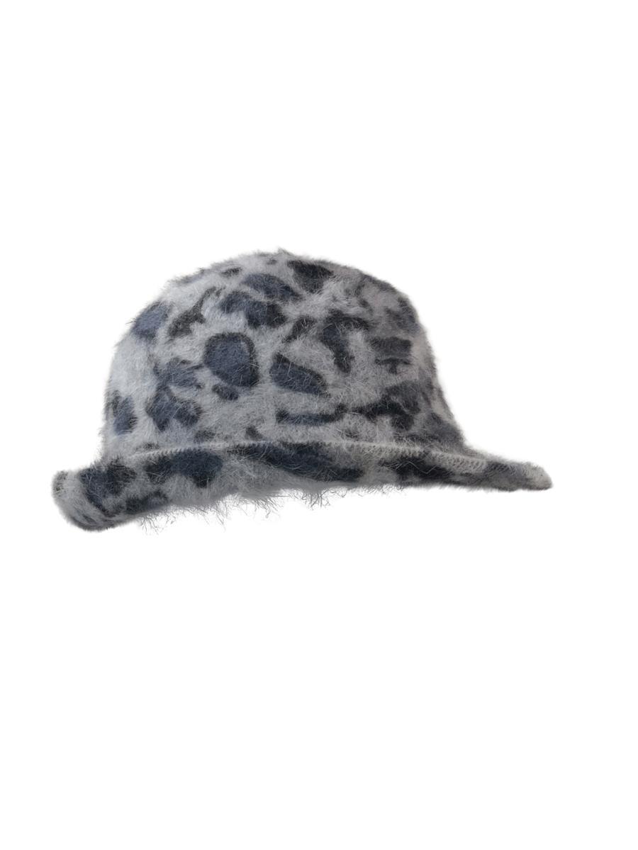 Black Colour Minde leo knitted hat, grey