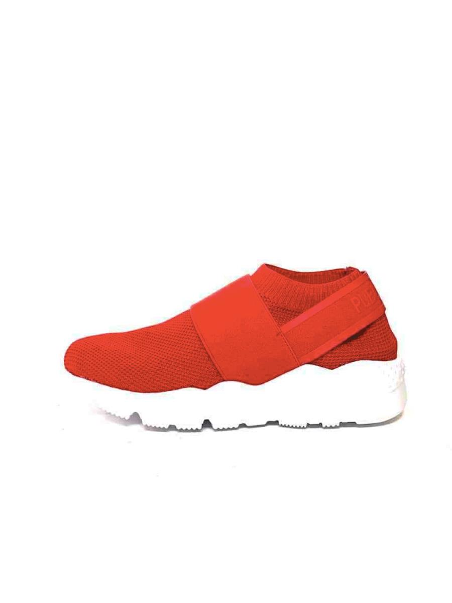 Publicservice Rocket Red Sneakers, lette sneakers