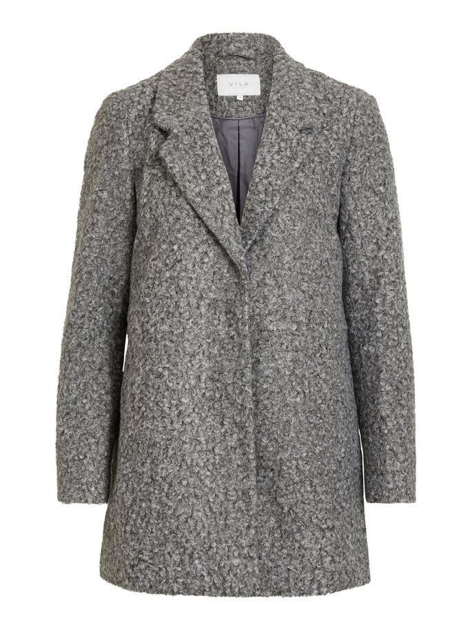Vila Vijessi medi coat, medium grey