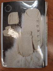 Strikkepakke Du Store Alpakka hentesett, 0-3 måneder
