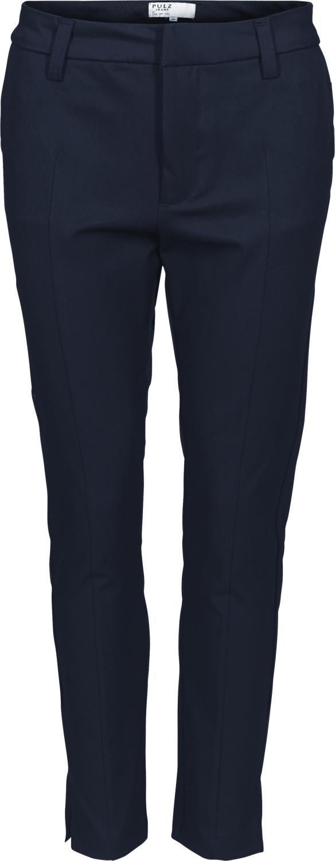 Pulz Clara Pant 7/8 marineblå dressbukse, stikklommer