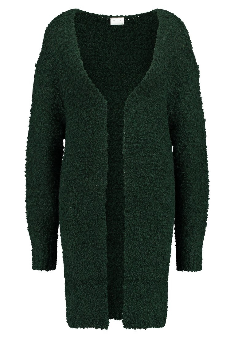 Vila ViKulina knit L/S cardigan, pine grove