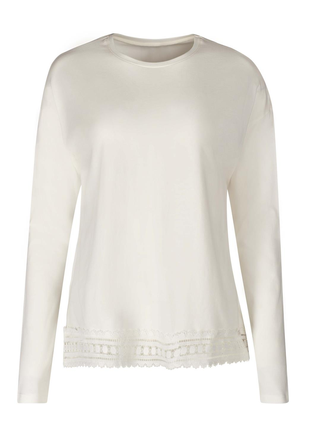 Skiny L. shirt long sleeve, sleep mix & match, ivory