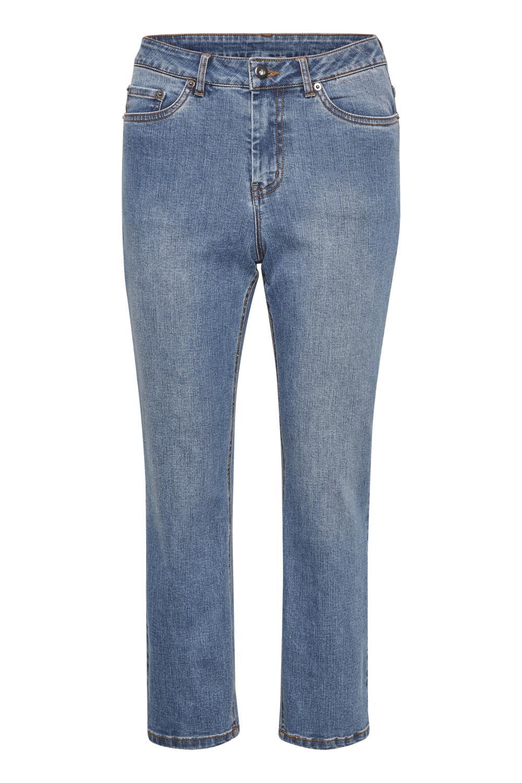 Kaffe Darcy Cropped Jeans, denim blå