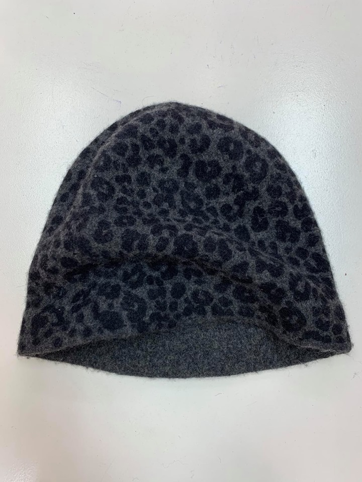 Maya Wool hat w animal print