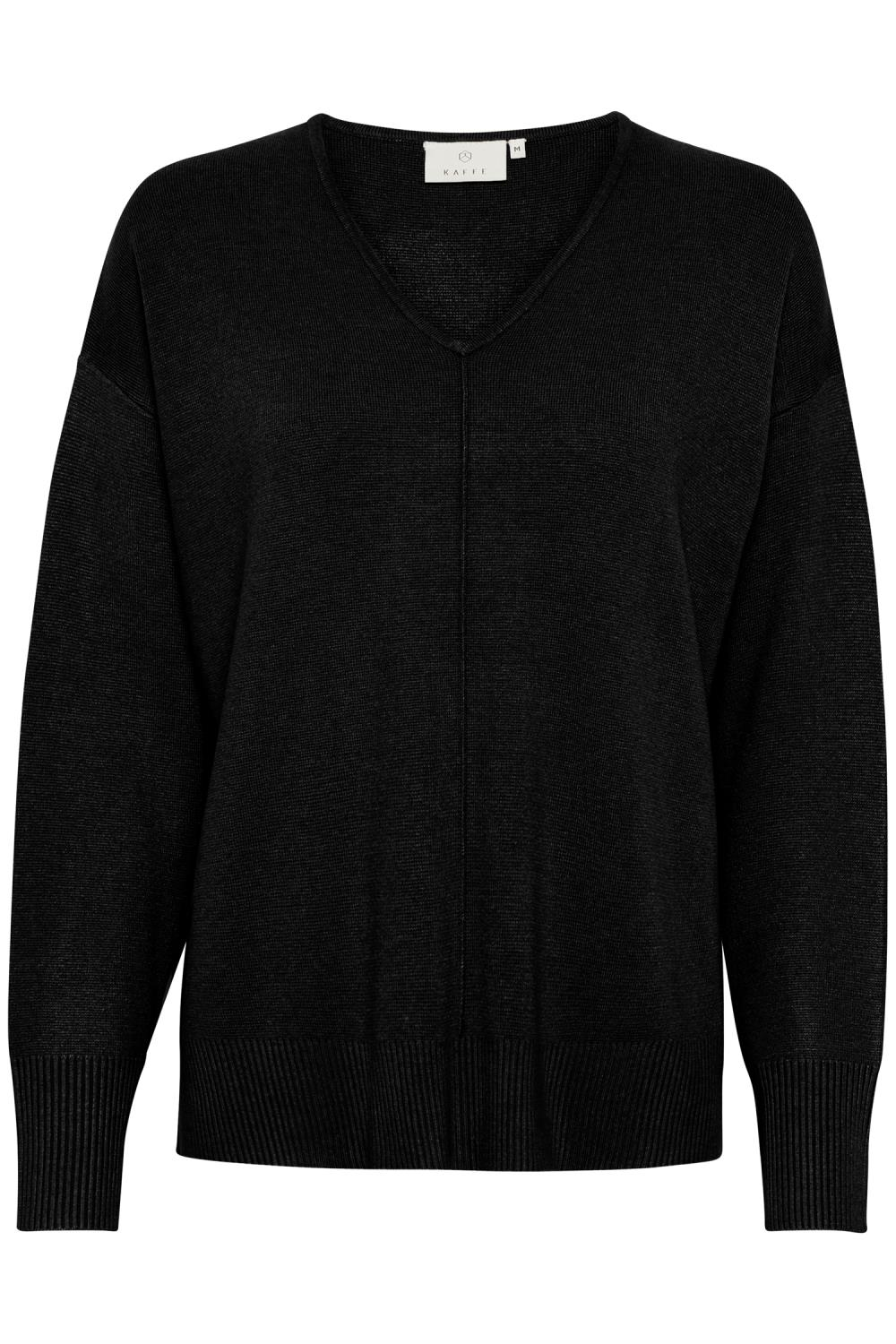 Kaffe KAmolly pullover, black deep