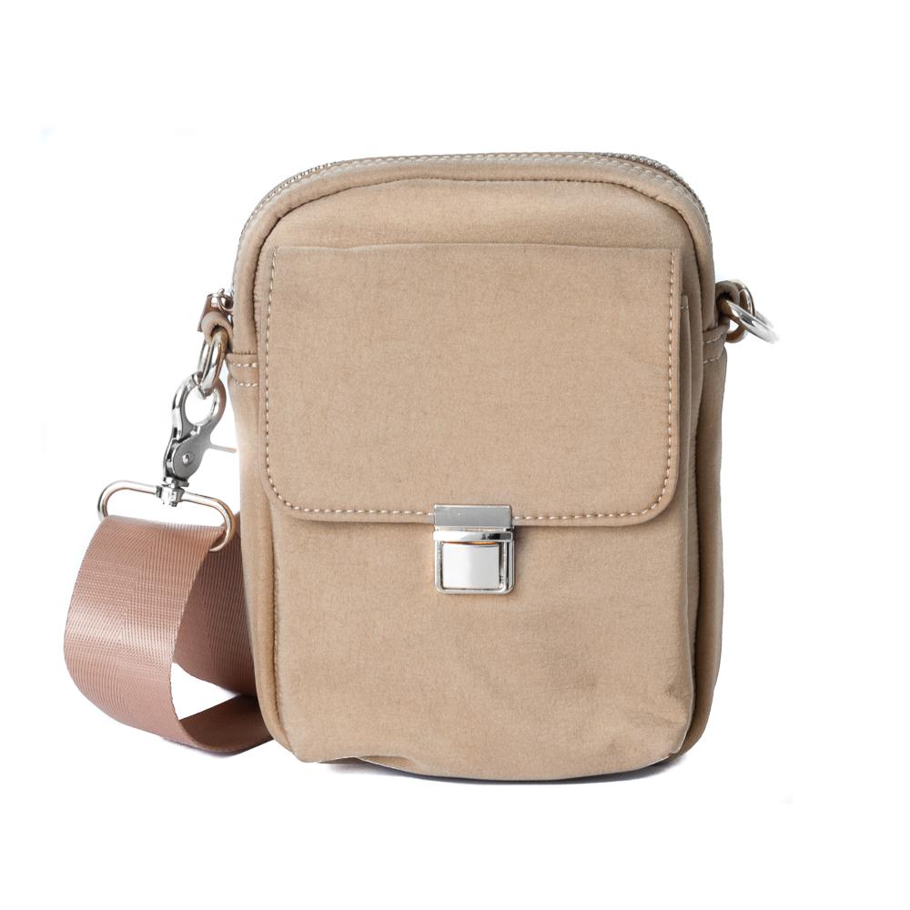 Rosenvinge Carma citybag singlepocket, beige