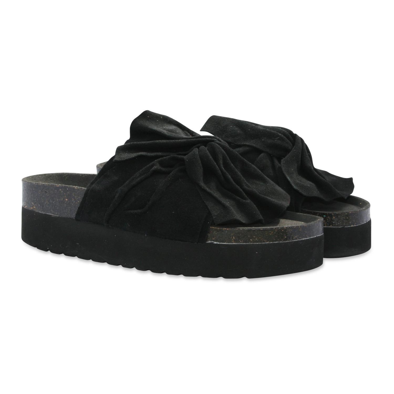 Orginalsin Emma platform black, sandal