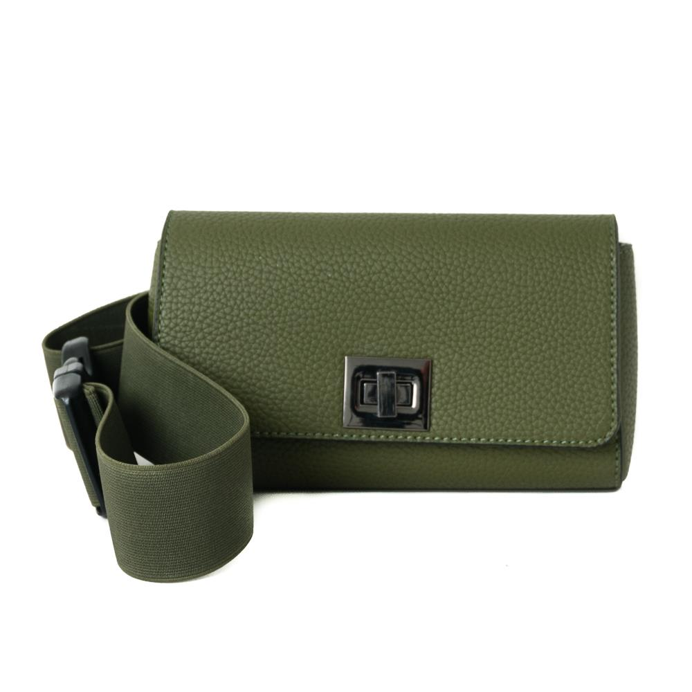Rosenvinge Bag Dorothea elastic belt box, army green