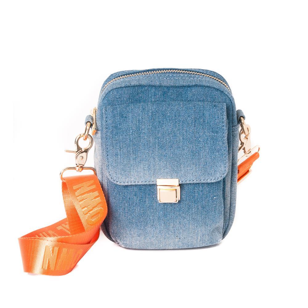 Rosenvinge, Dhalia half citybag, neon/jeans