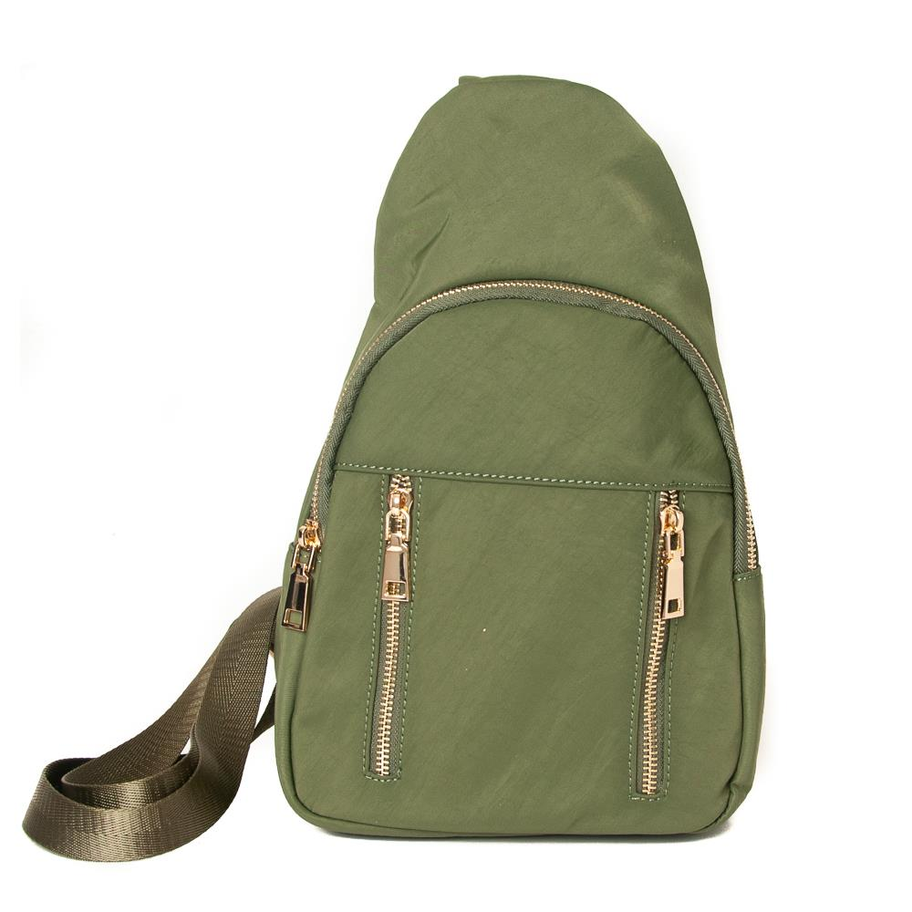 Rosenvinge Dina cross sack, army green
