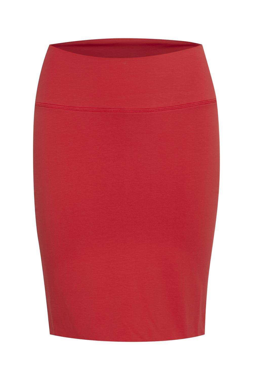 Kaffe Penny Skirt, High risk red