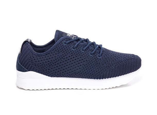 Vanunucci marineblå snøre sko