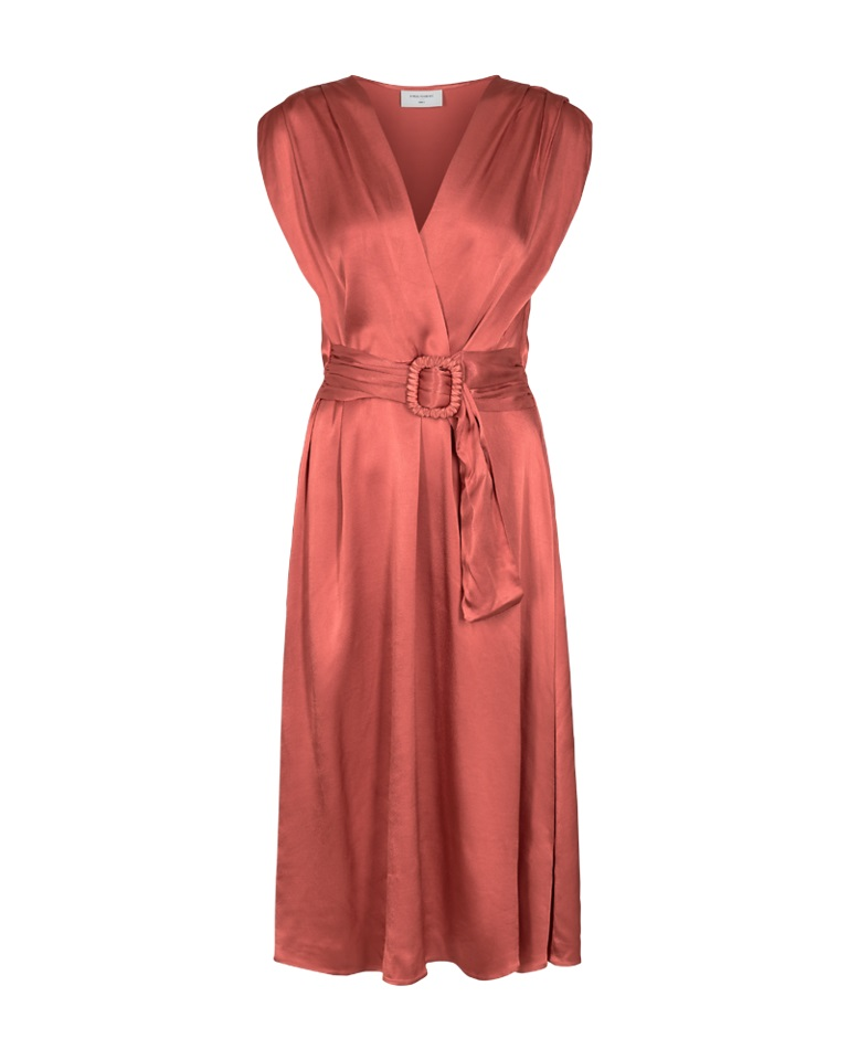 Freequent Lidity dress, Brick red