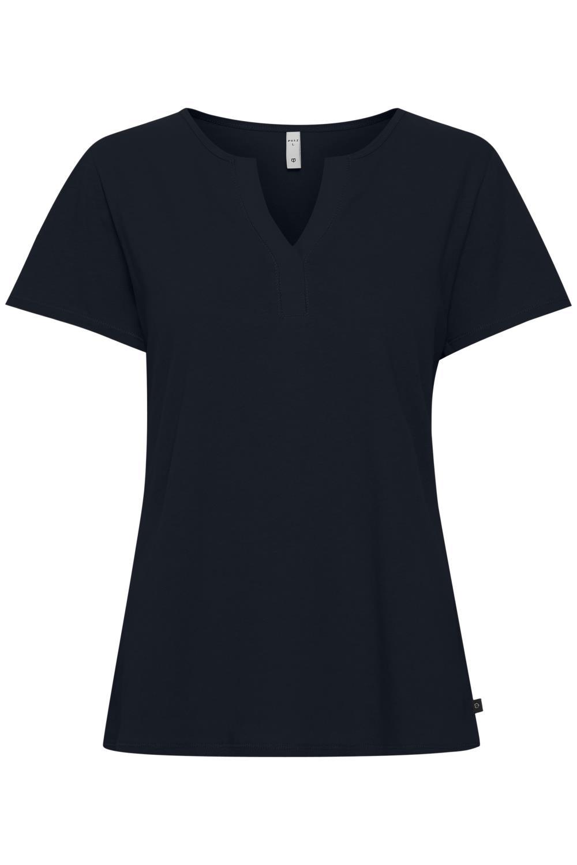 Pulz PzMabella t-shirt, dark sapphire