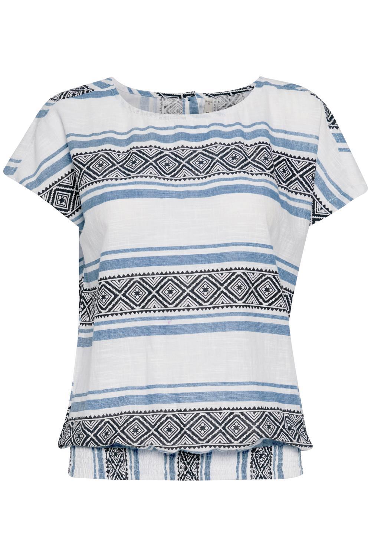 Pulz Katinka blouse, delfit blue