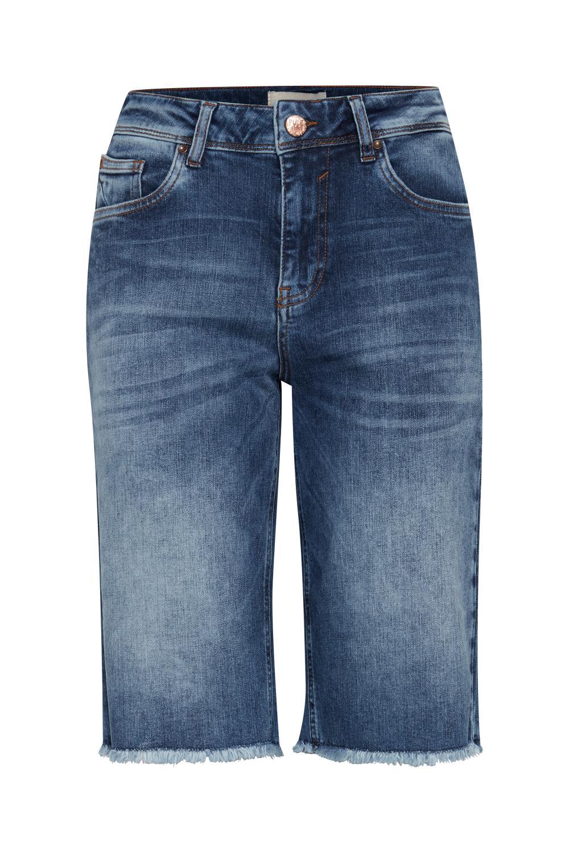 Pulz Emma jeans, medium blue denim
