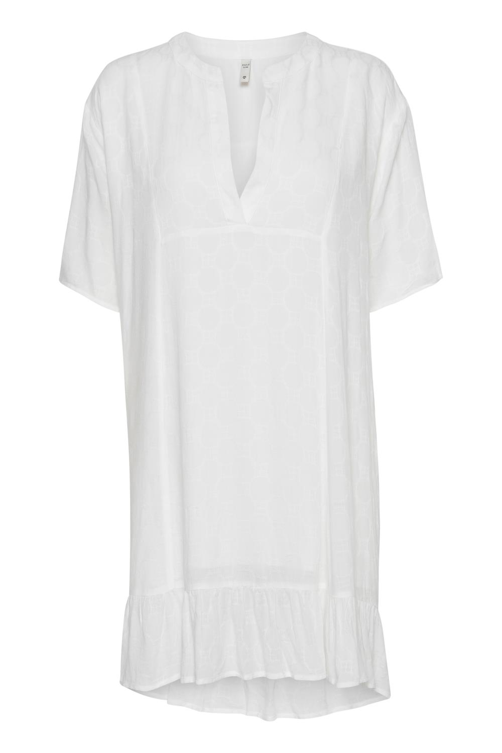 Pulz Lottie Tunic, Pearled Ivory