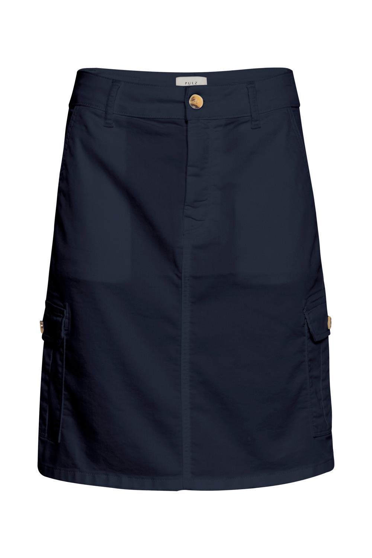 Pulz Karolina skirt, dark sapphire