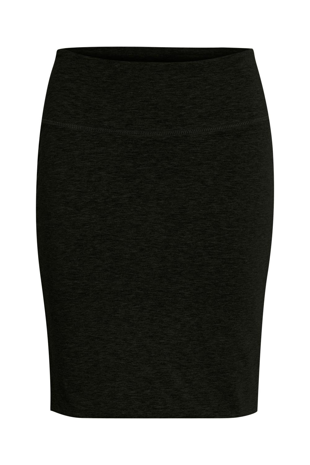 Kaffe Penny Skirt, Black deep