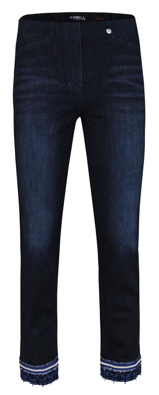 Robell Rose bukse, 68 cm, denimblå