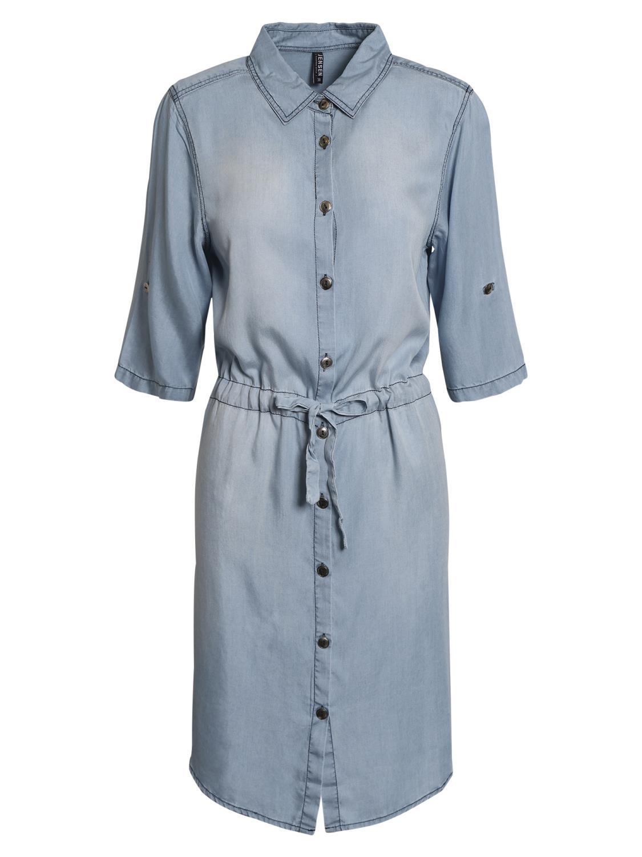 Jensen denim skjorte kjole