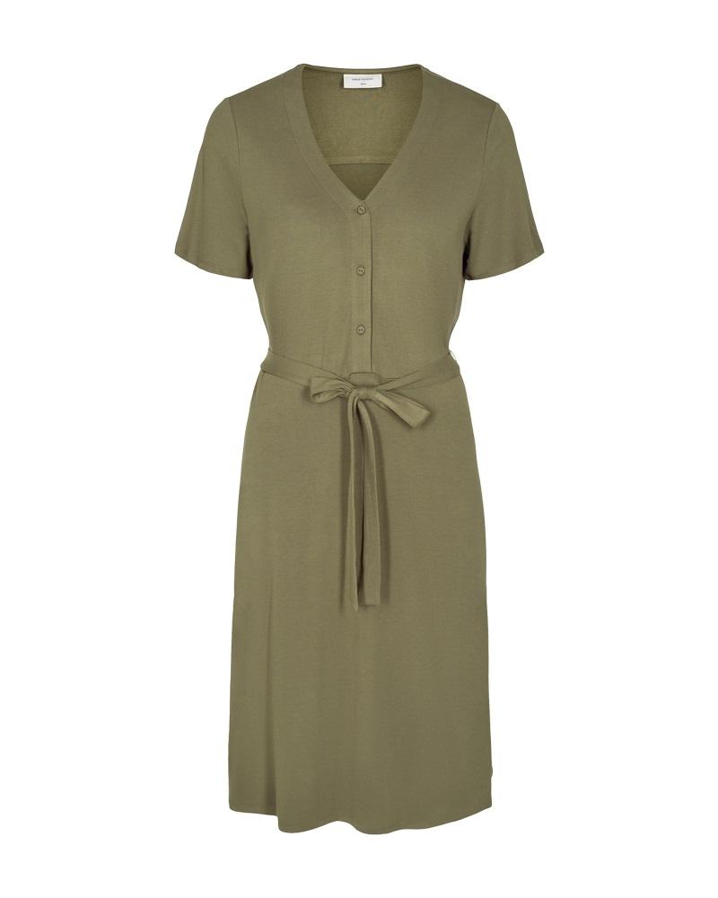 Freequent Lyra dress, burnt olive