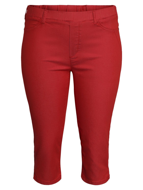Ciso Capri pants, rød