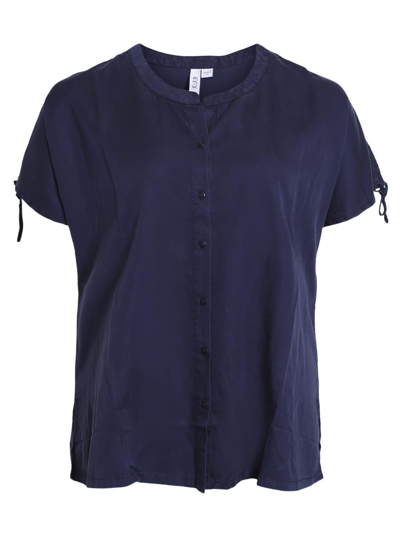 Ciso marineblå tencell bluse