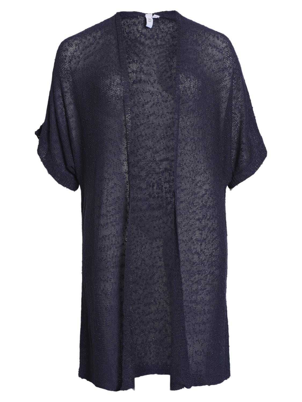 Ciso strikket cardigan, marineblå
