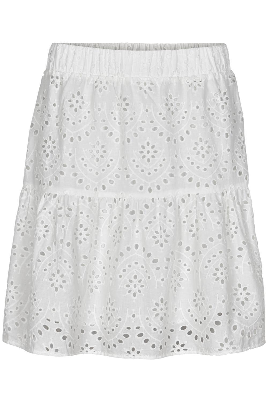 Nümph Blessing Skirt, hvit blonde