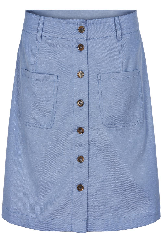 Nümph Belladonna skirt, Airy blue