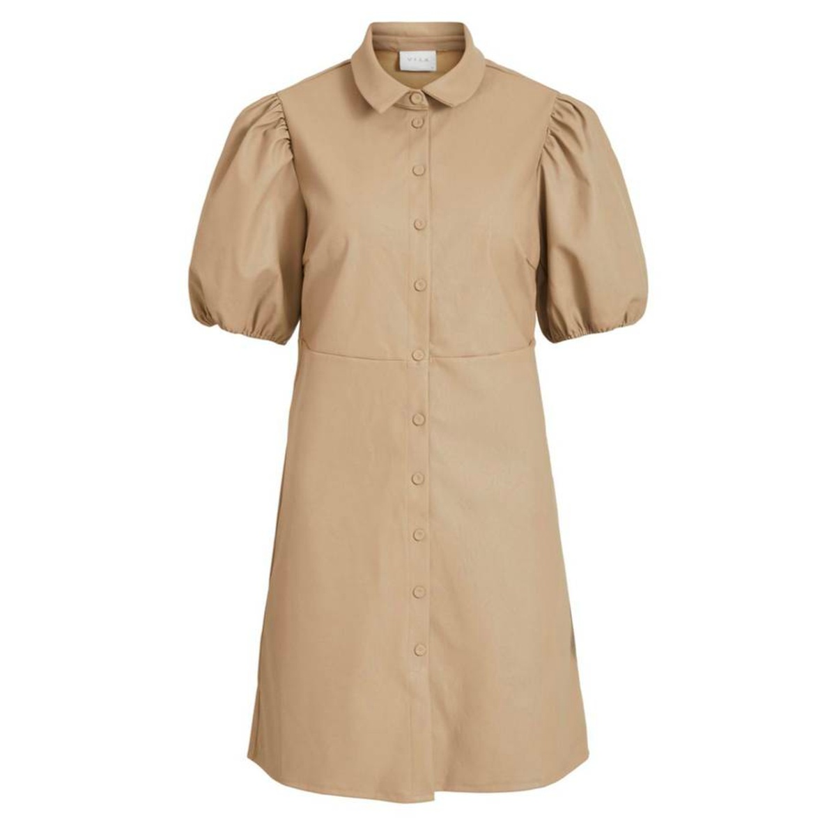 Vila Tura 2/4 dress, soft camel