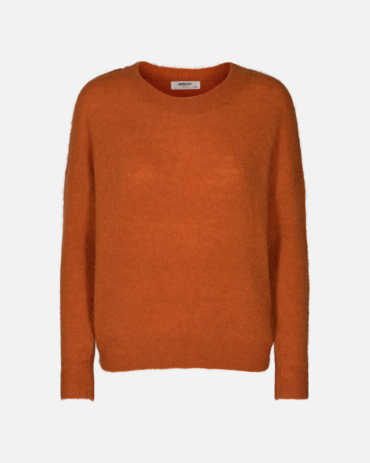 MSCH Femme Mohair O-pullover, apricot orange