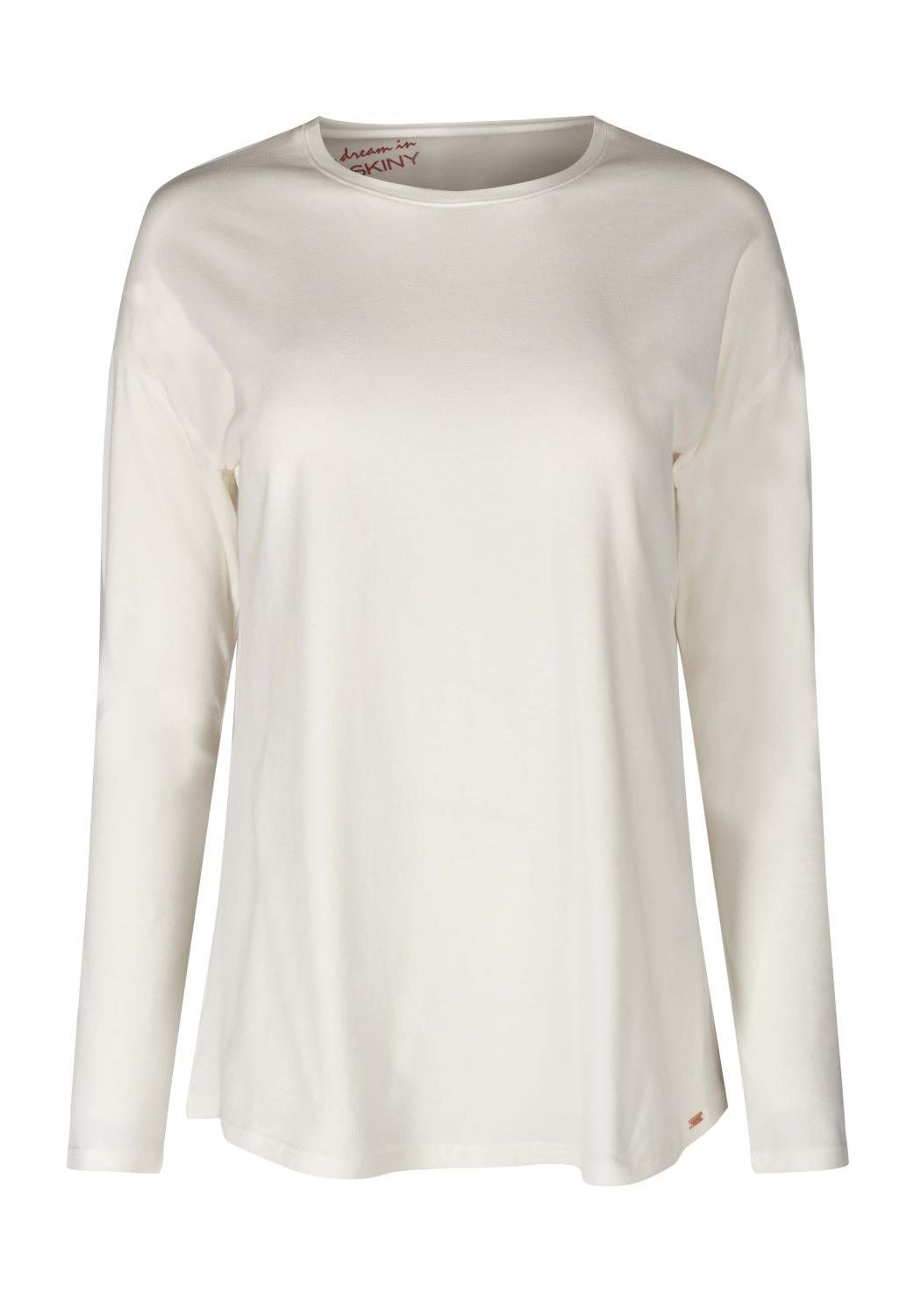 Skiny Sleep & Dream, L. shirt long sleeve, ivory