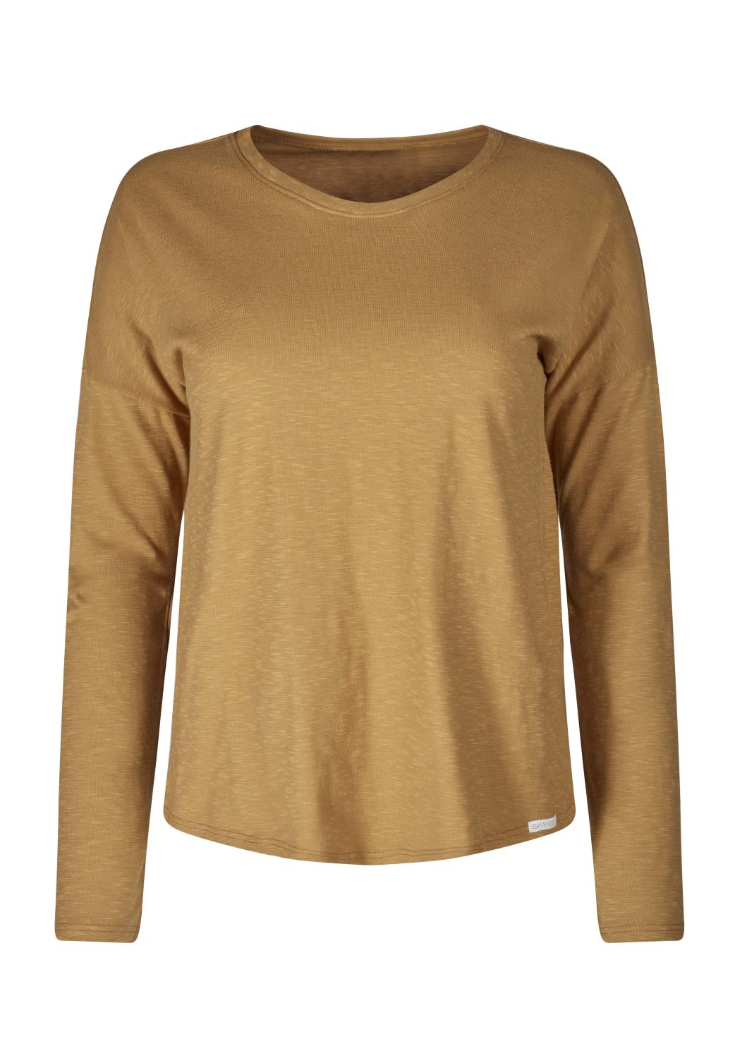 Skiny L. shirt long sleeve, bronze