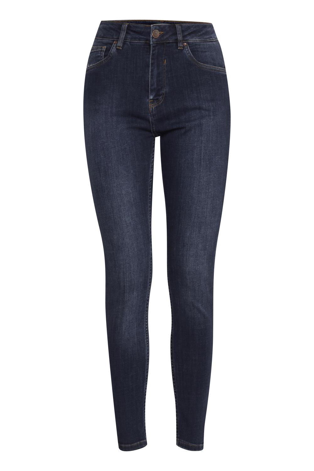 Pulz Emma Jeans, dark blue denim
