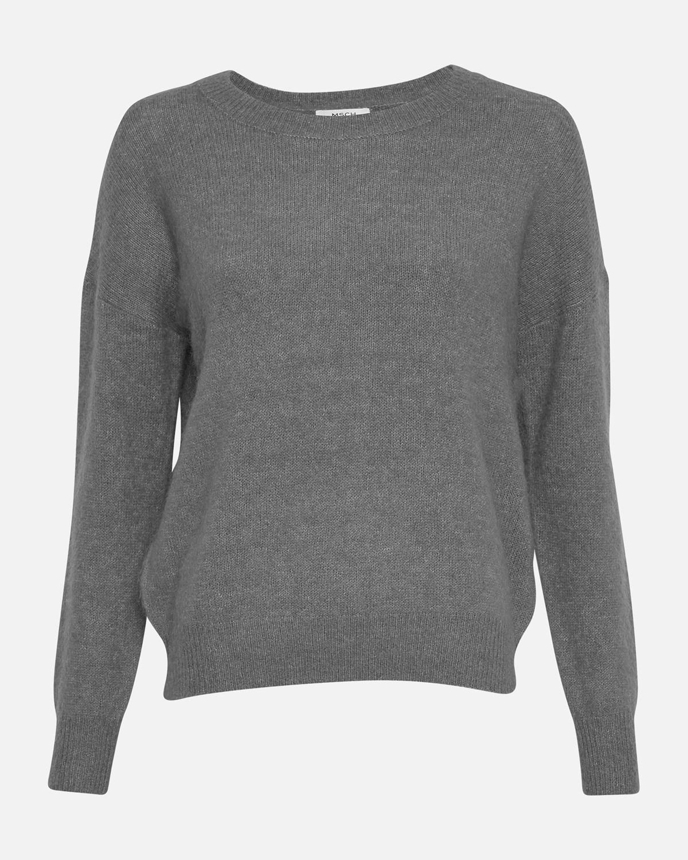MSCH Femme Mohair Pullover, stålgrå