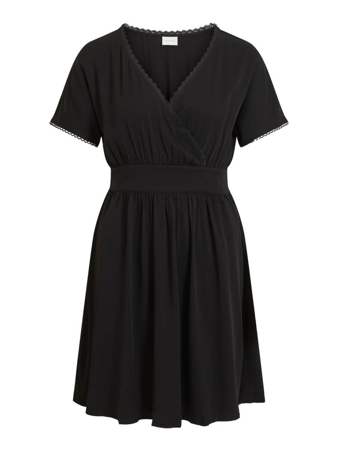 Vila Suvita S/S dress, black